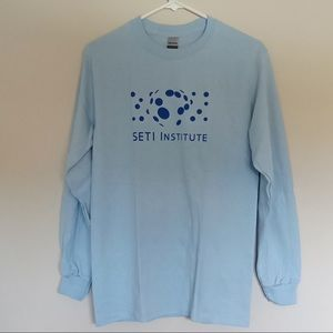 SETI Institute Crewneck Long-sleeve Men's NWOT